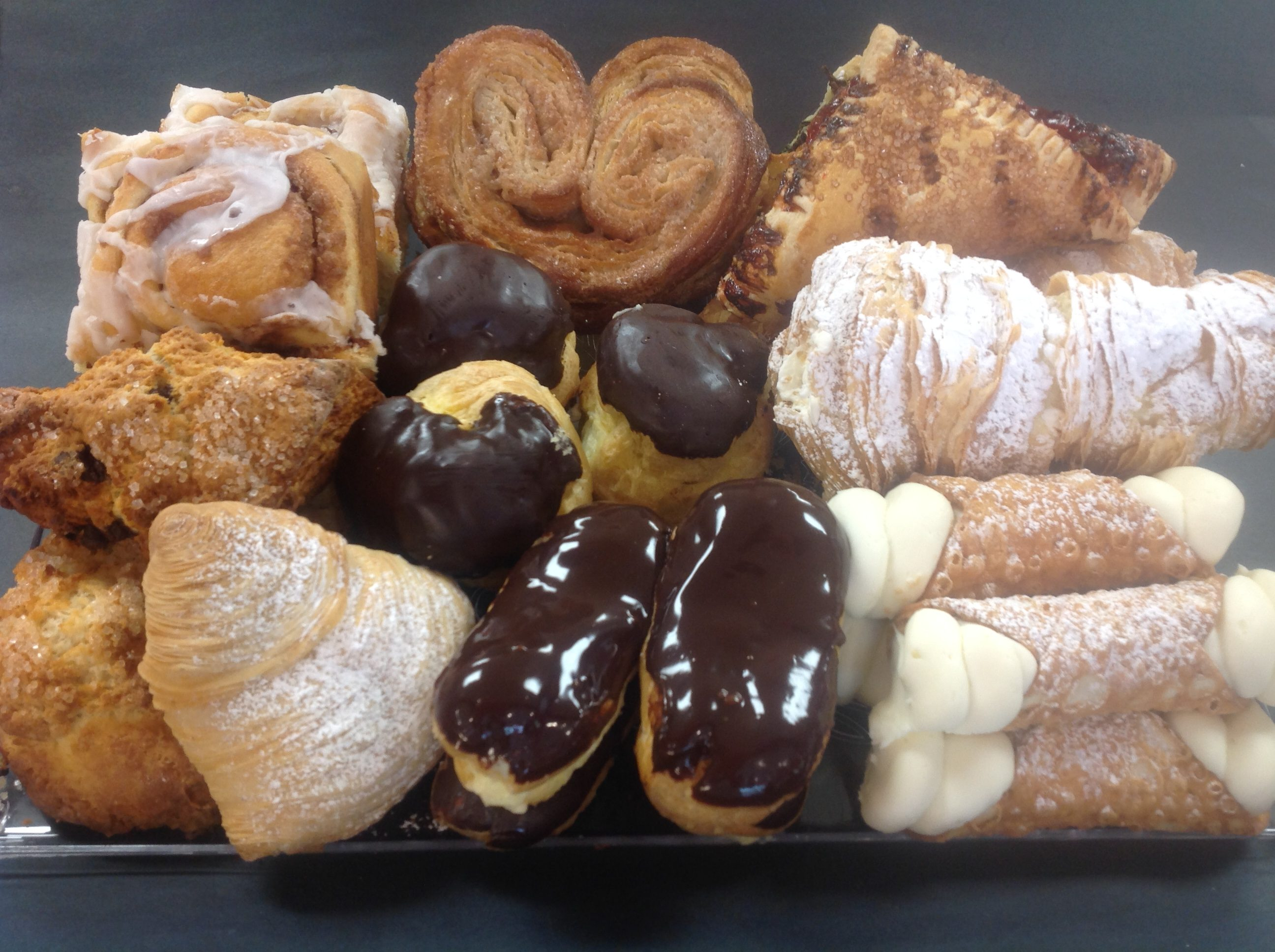 Assorted Pastry Platters at Dolce and Biscotti Italian Bakery