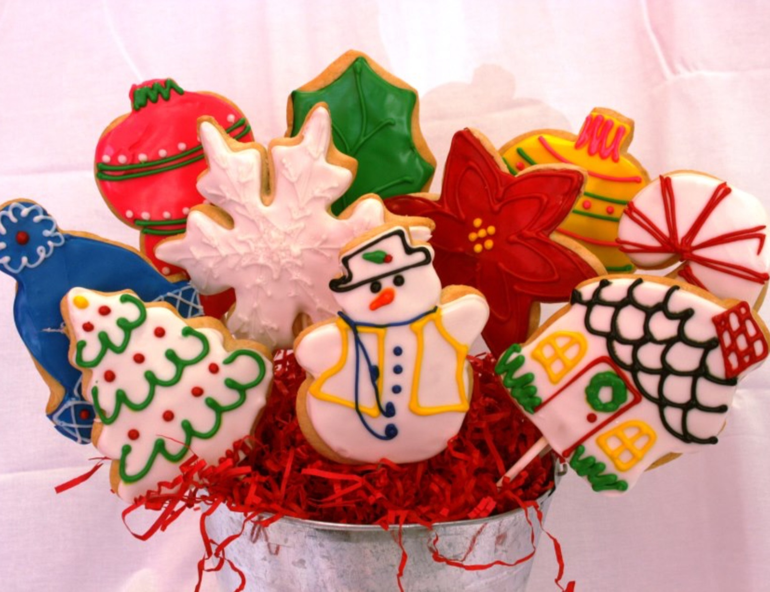 christmas cookies at dolce and biscotti