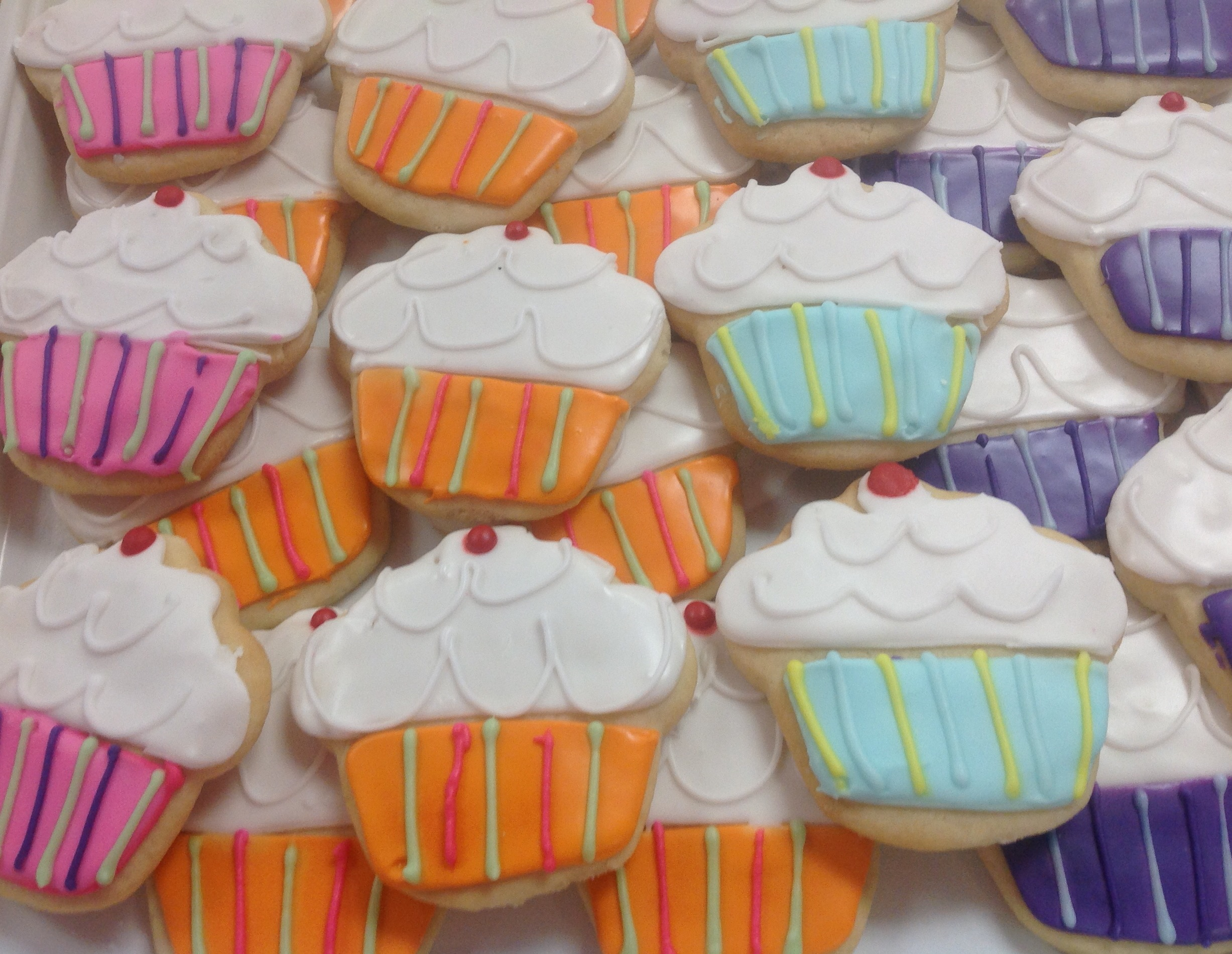Gluten free cutout cookies at Dolce and Biscotti Italian Bakery