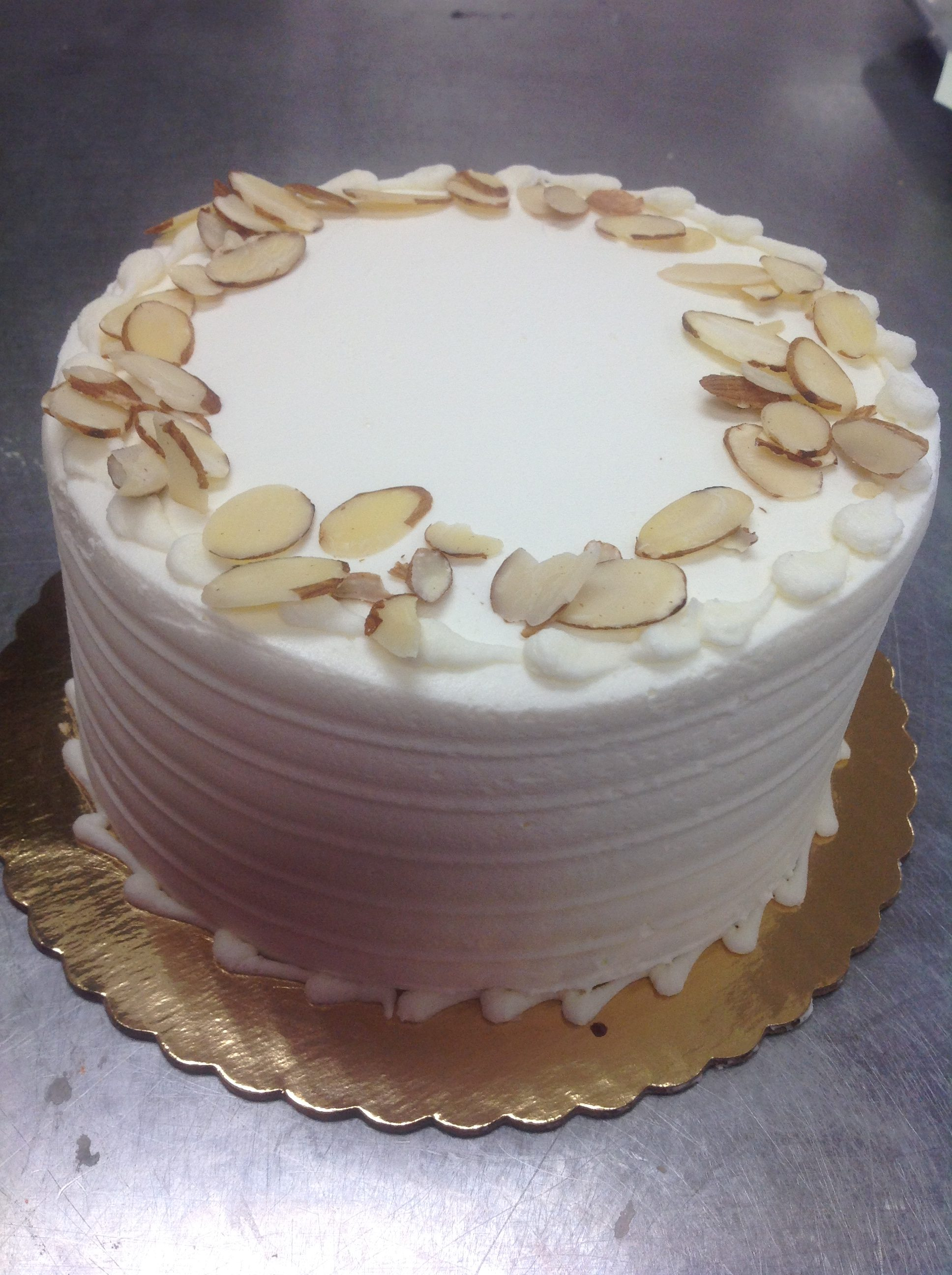 Italian Cream Cake at dolce and biscotti