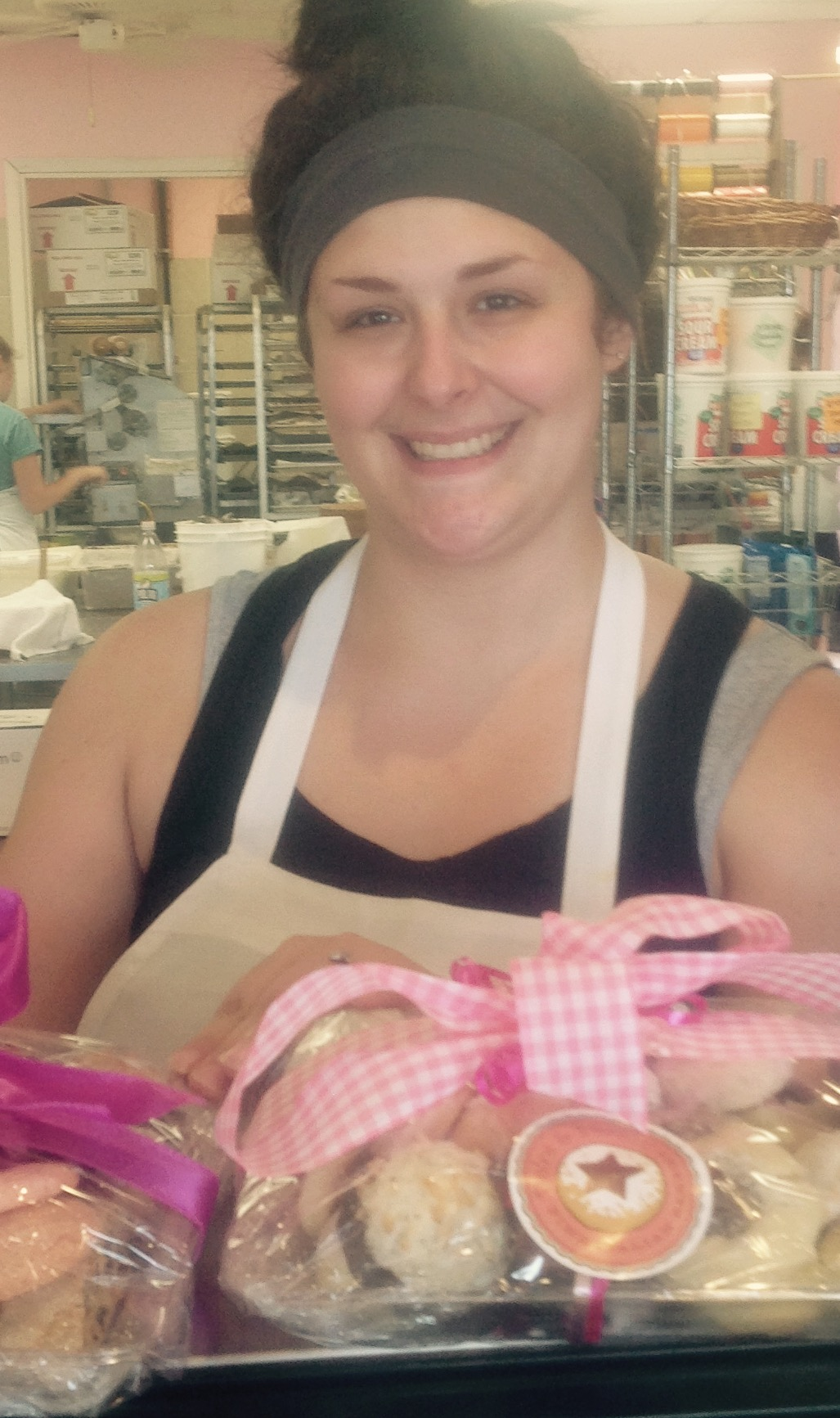Brittney Honsinger is the Executive Chef at Dolce and Biscotti Italian Bakery