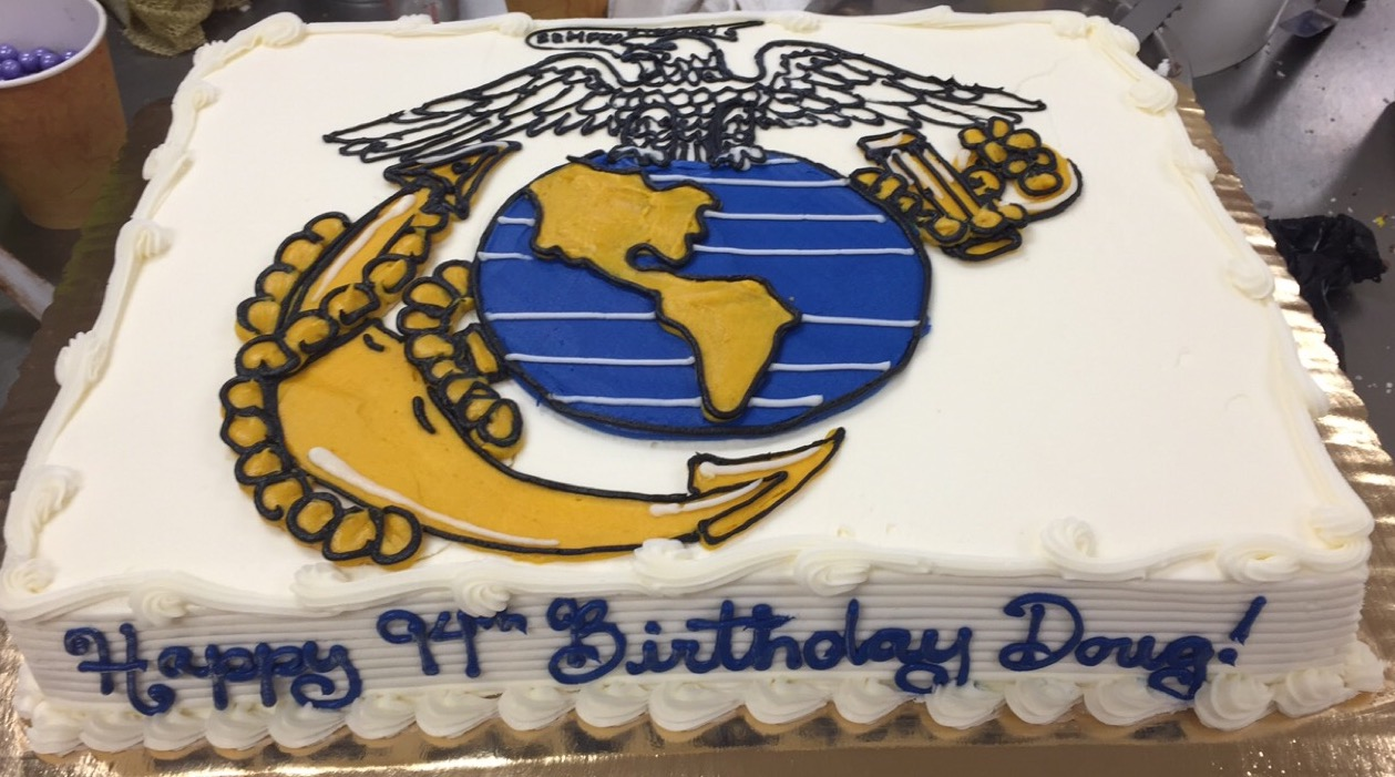 Patriotic and Military themed cakes at Dolce and Biscotti Italian Bakery