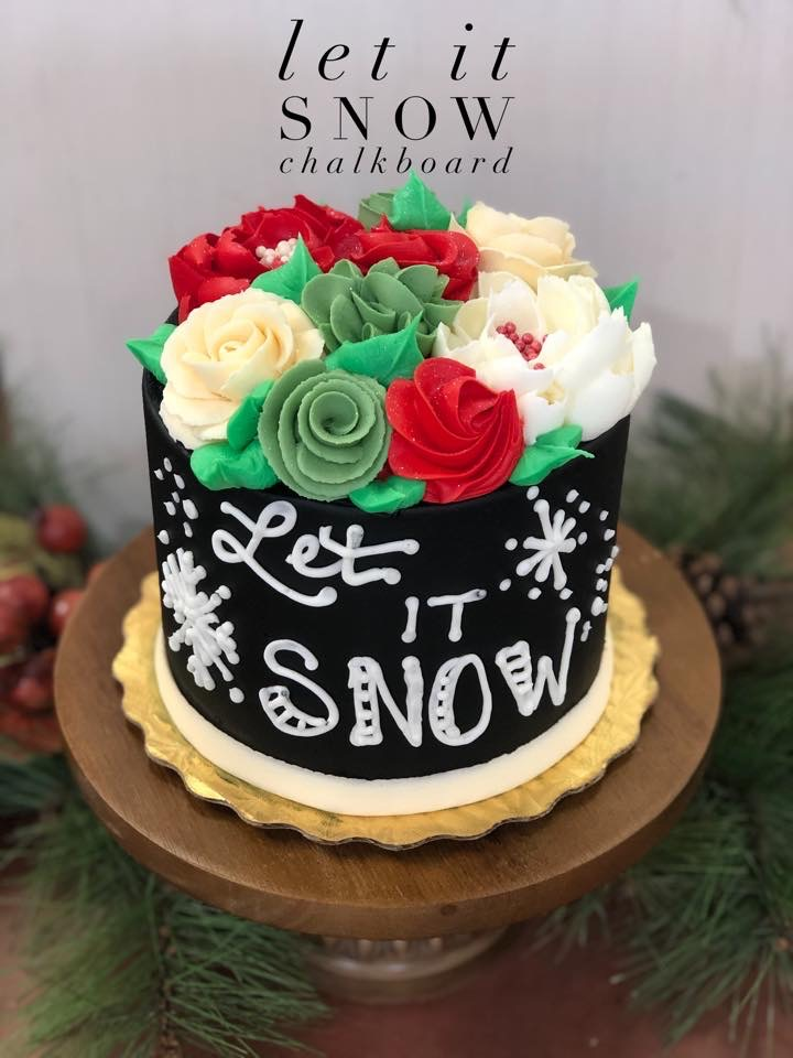 Let it Snow Cake, Dolce & Biscotti