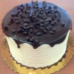Chocolate Blackout Cake with Vanilla Frosting