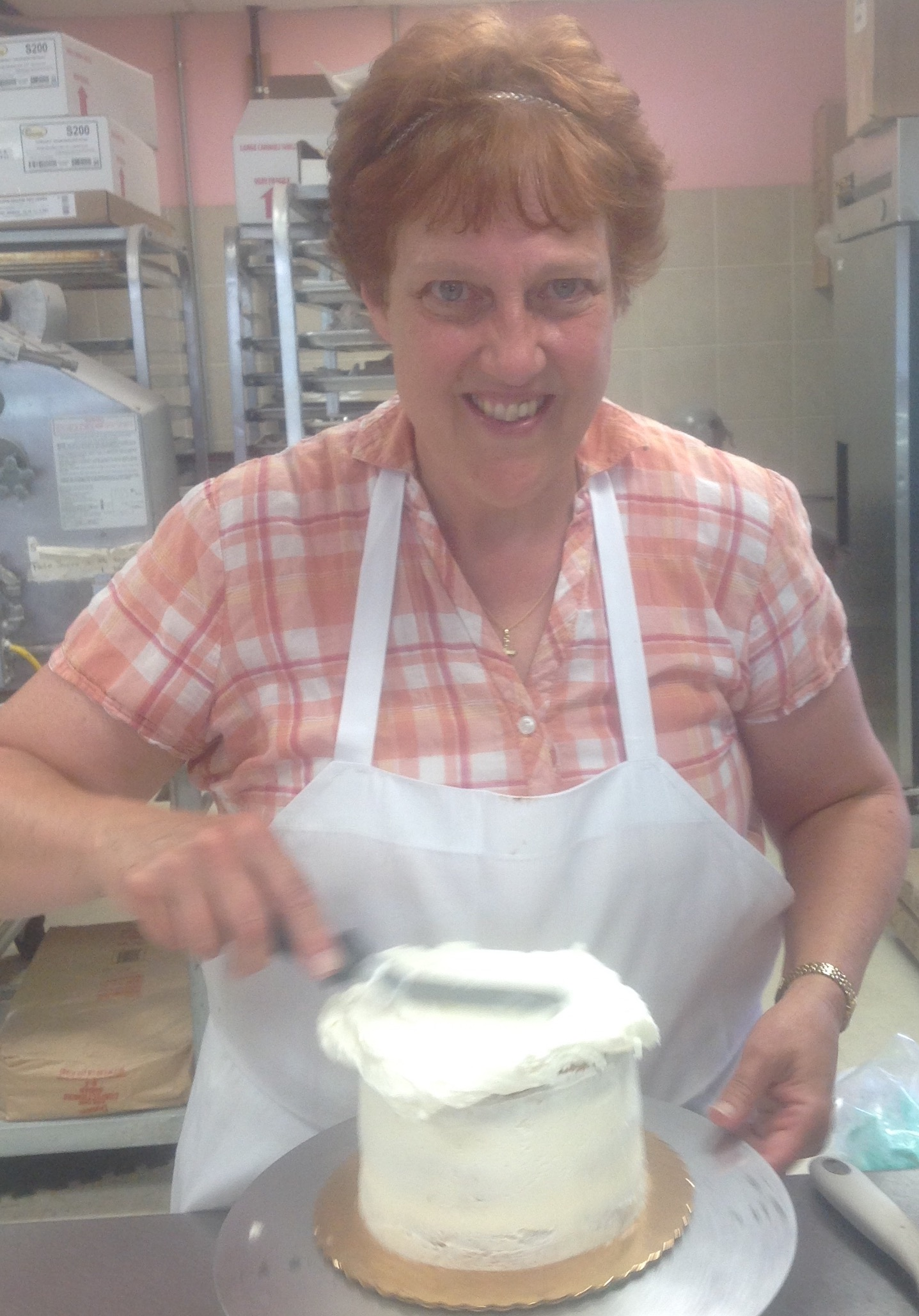 Donna Rischbieter- Executive Pastry Chef at Dolce and Biscotti Italian Bakery