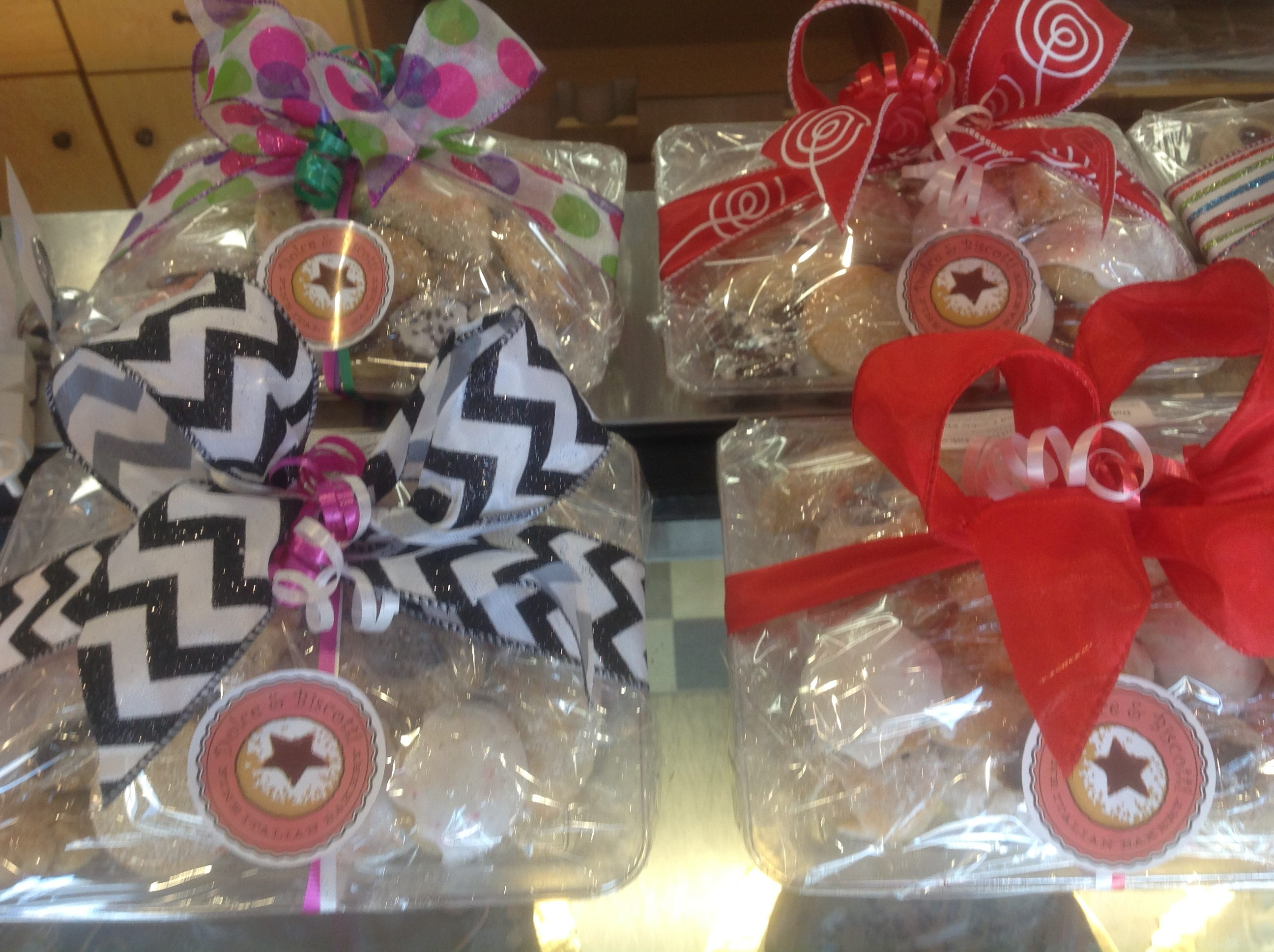 Holiday Cookie Platters at Dolce and Biscotti Italian Bakery