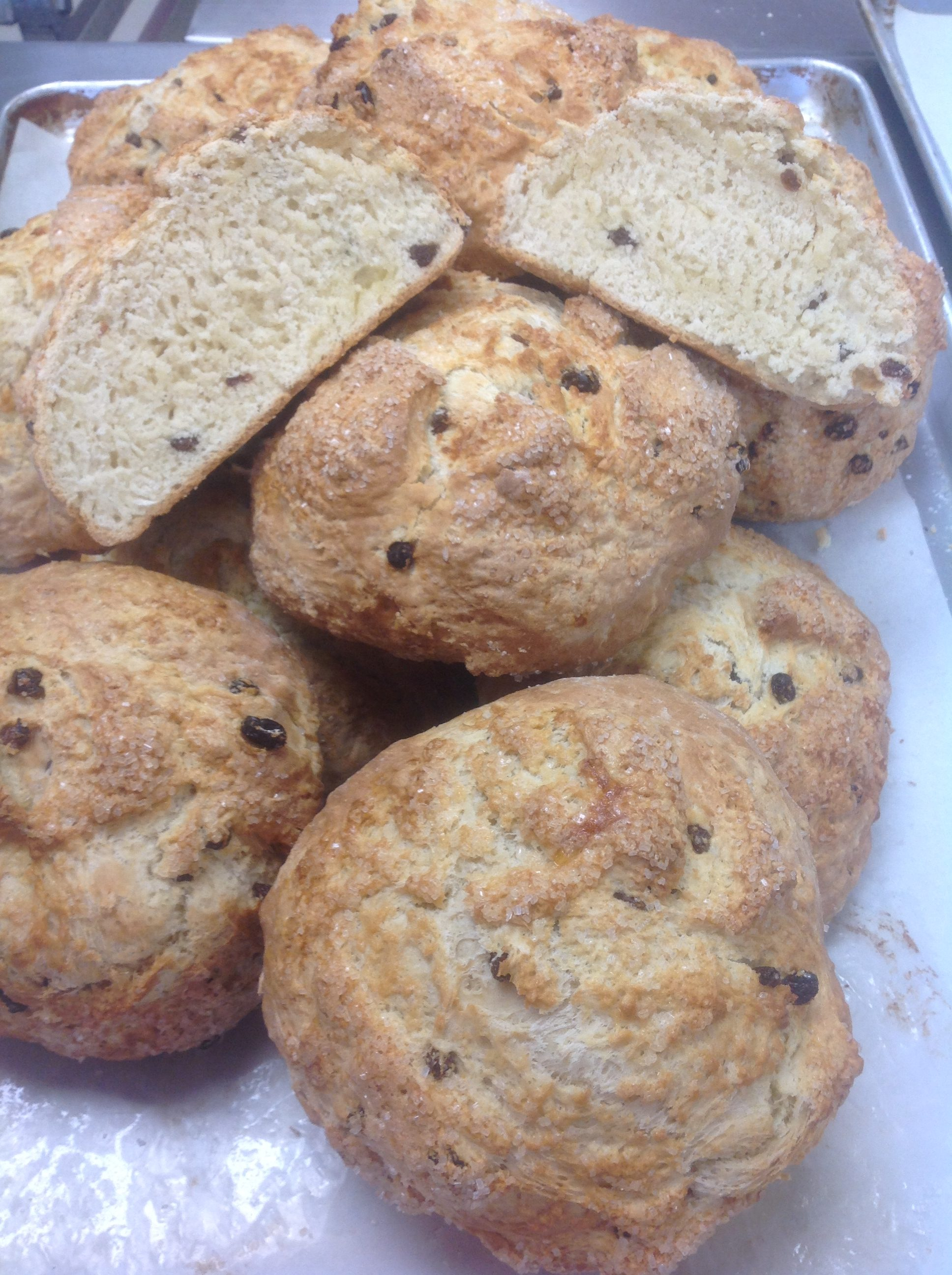 Irish Soda Bread at Dolce and Biscotti Italian Bakery