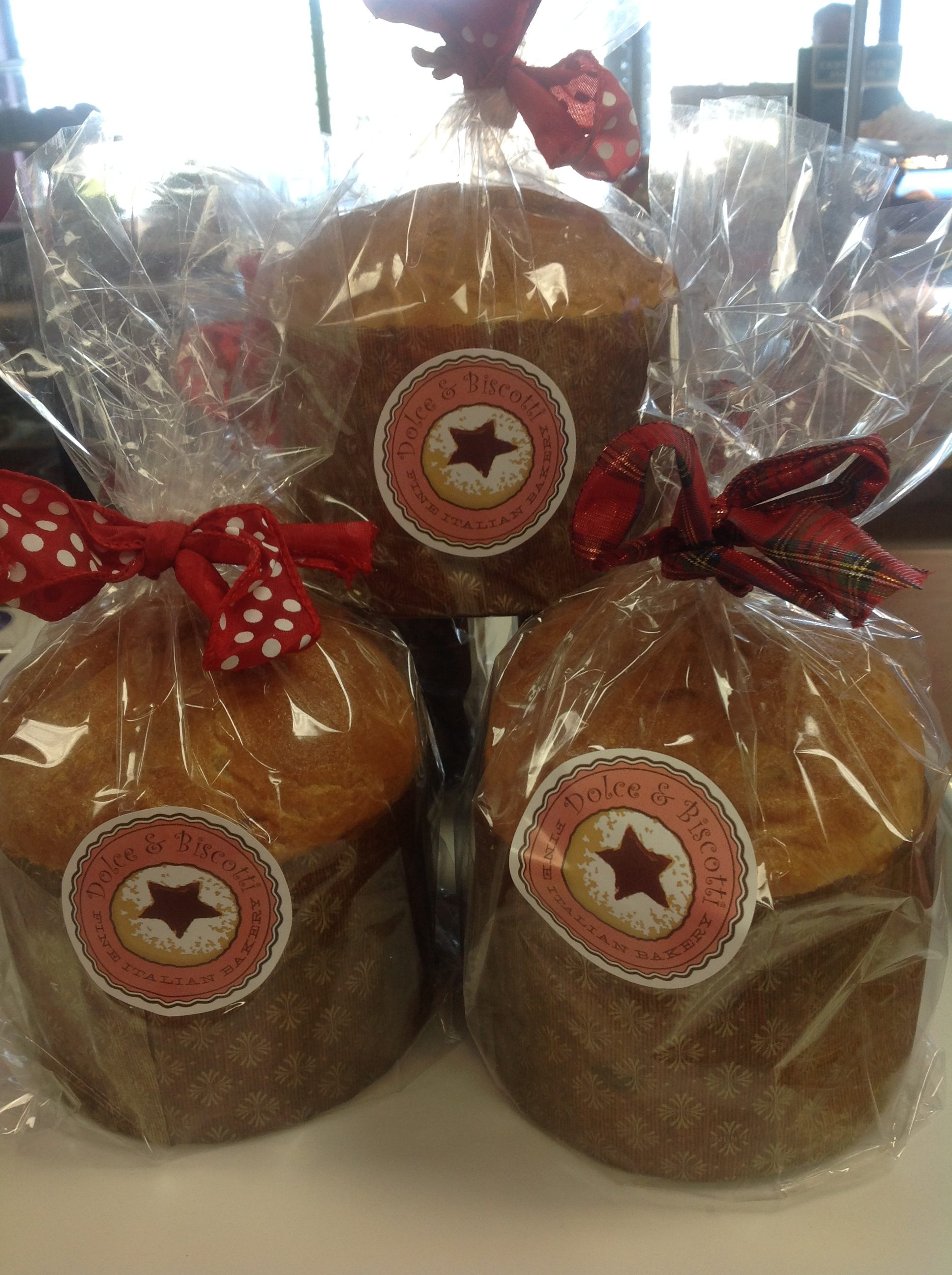 Panettone Bread at Dolce and Biscotti Italian Bakery