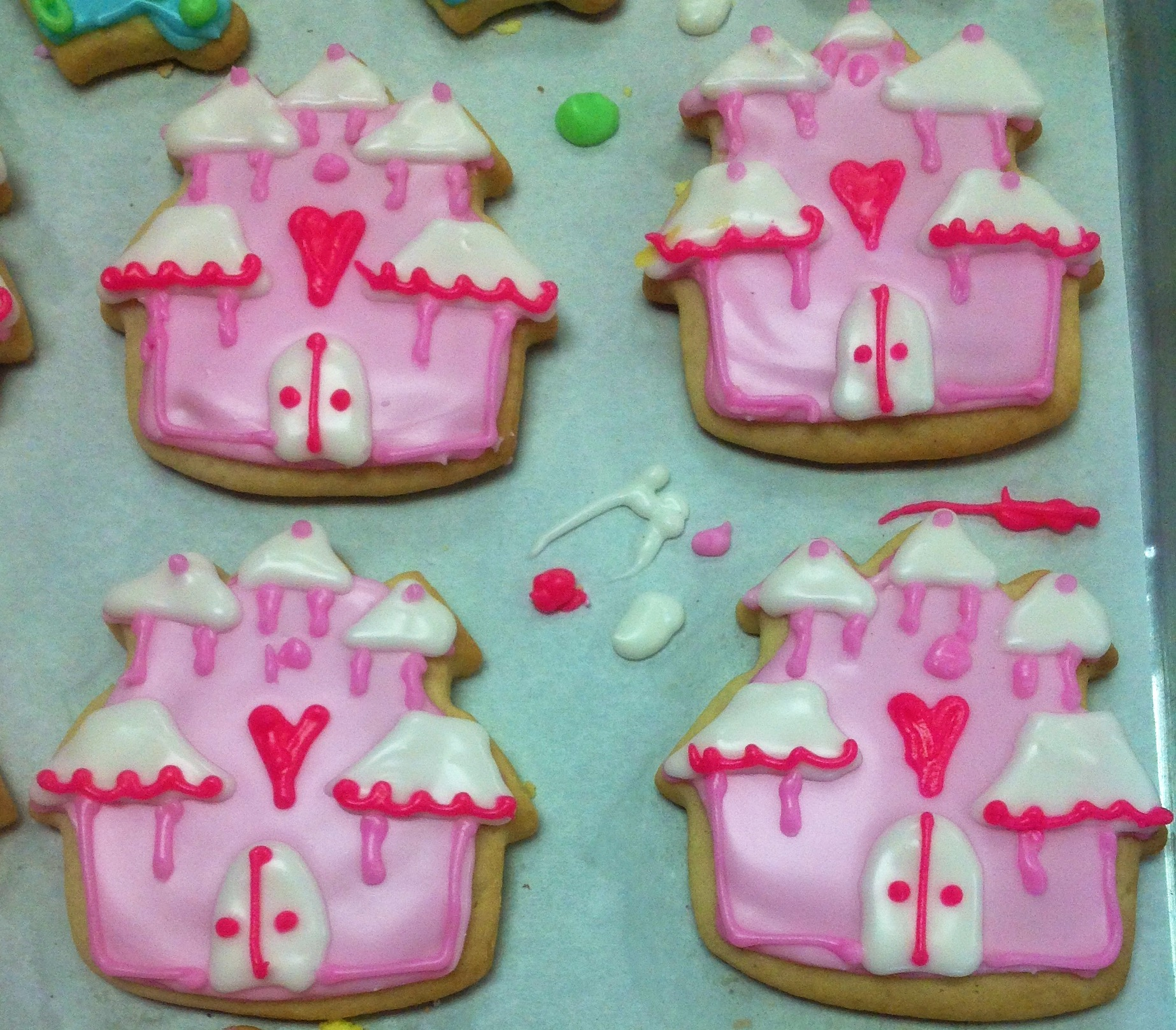 Princess Cookies at Dolce and Biscotti Italian Bakery