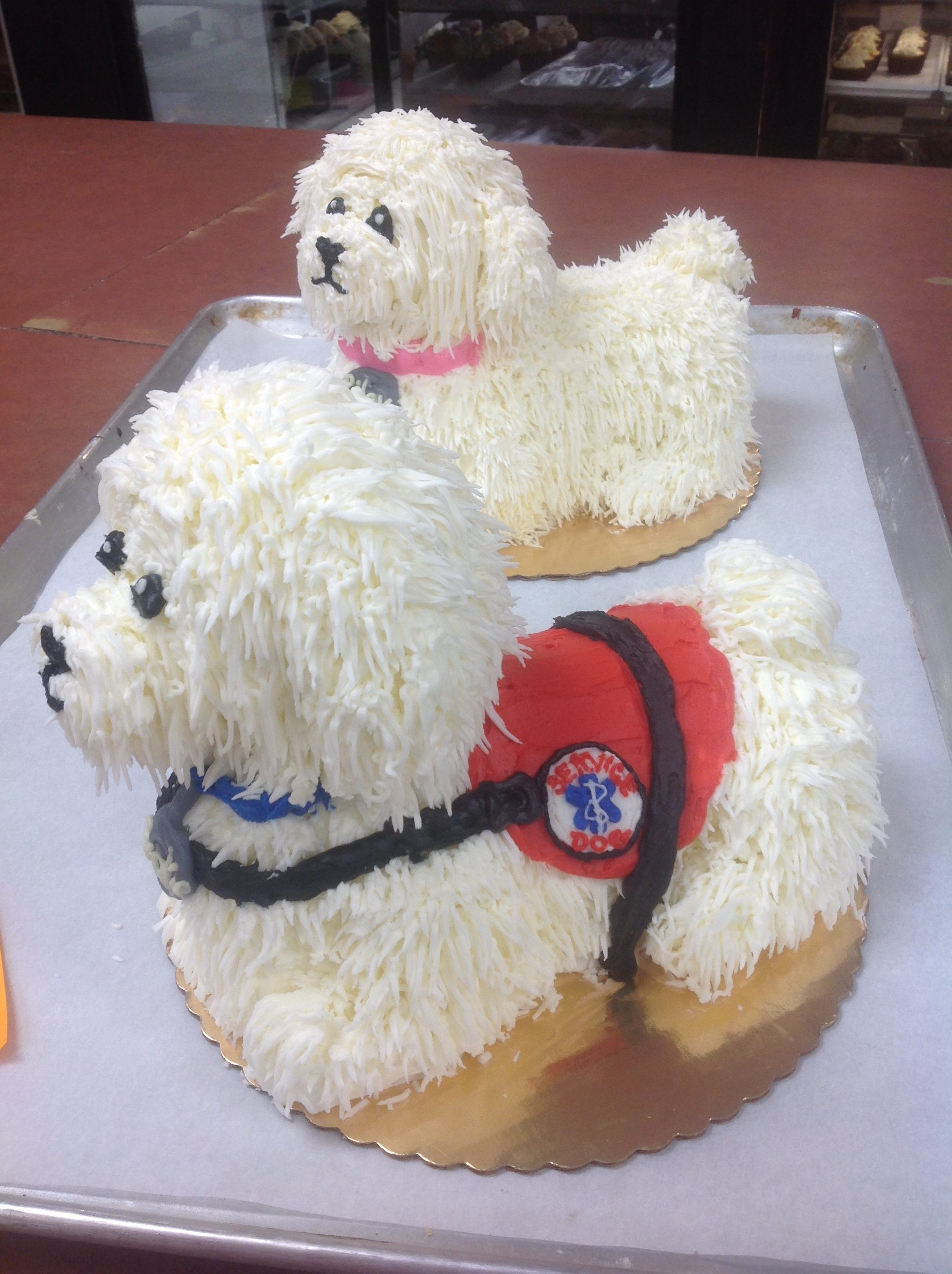 Puppy Dog Themed Cakes at Dolce and Biscotti Italian Bakery