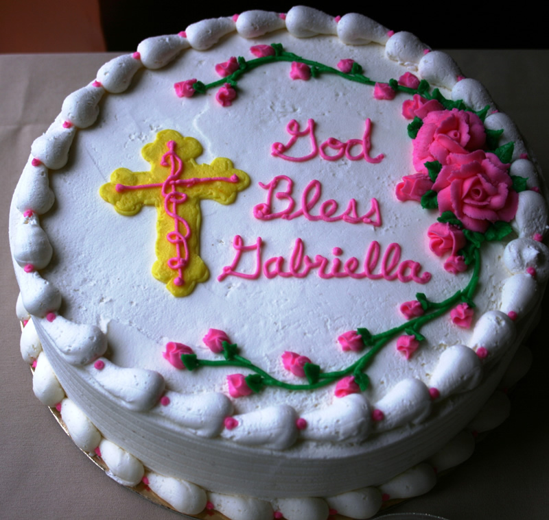Religious Birthday Cakes at Dolce and Biscotti Italian Bakery