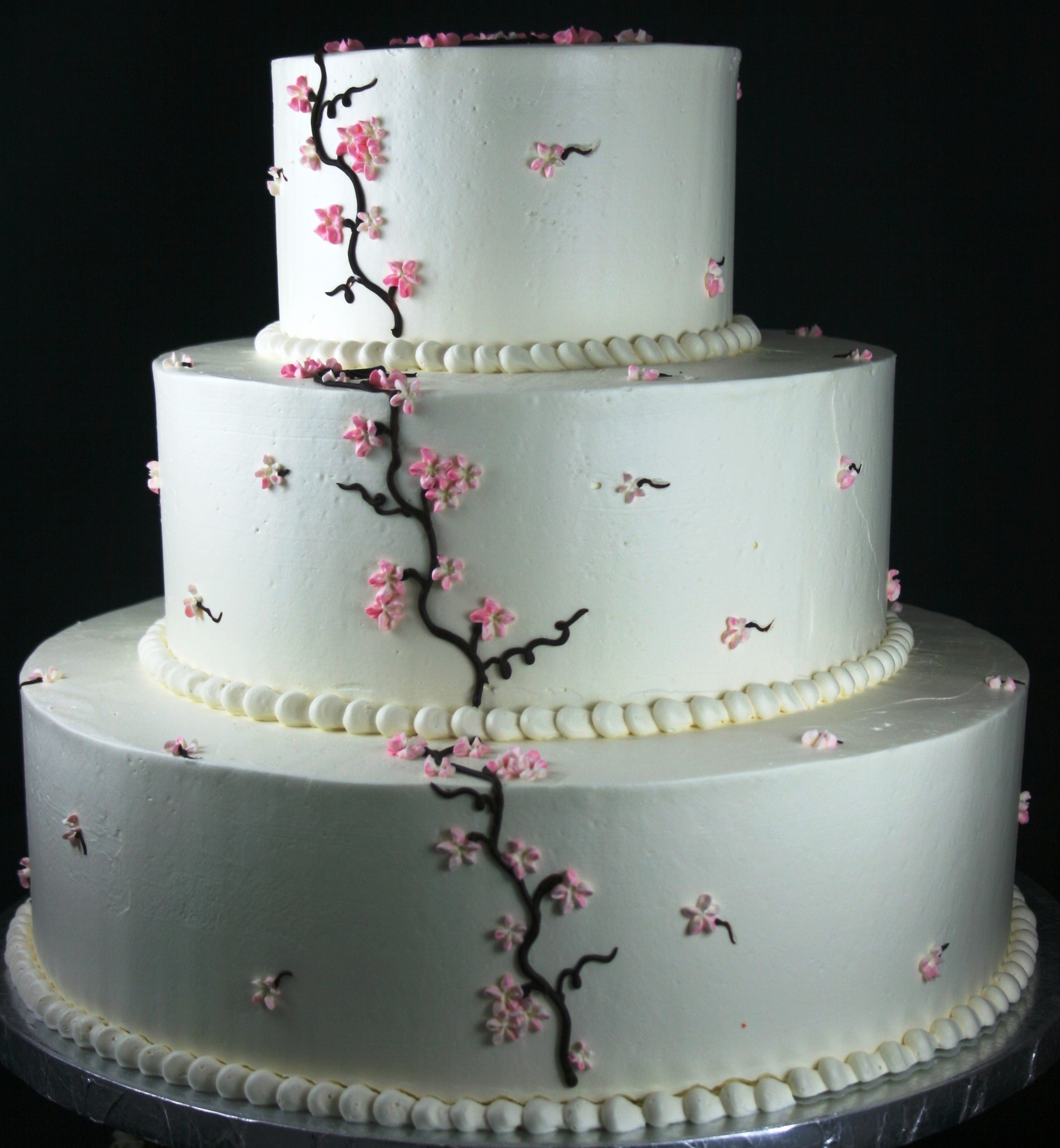 Tiered Wedding Cakes at Dolce and Biscotti Italian Bakery