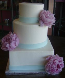 Tiered Wedding Cakes Custom Made at Dolce and Biscotti Italian Bakery
