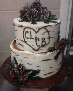 Rustic Wedding Cakes at Dolce and Biscotti Italian Bakery