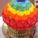 rainbow-cupcake at Dolce and Biscotti Italian Bakery