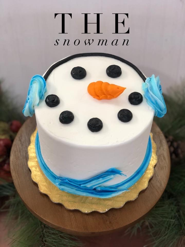 The Snowman Cake, Dolce & Biscotti